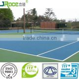 China professional supplier of tennis floor material tennis flooring cover tennis court surface