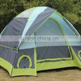 Portable waterproof Outdoor 3-4 Person Double Layer Camping Family Tent                                                                         Quality Choice