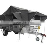 Hard Floor Forward Folding Camper Trailer for Sale with Water Tank                                                                                         Most Popular