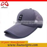 high quality summer baseball cap outdoor sun cap prevent bask in foam mesh trucker cap