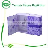 hot sale customized cosmetic perfume paper packaging box/candle packaging paper box