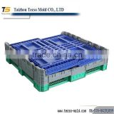 plastic beer case /beer bottle /folding crate plastic mould