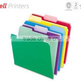 Colorful paper file folder printing from India