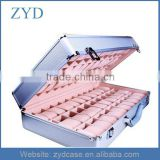 Metal sample display suitcase,aluminum jewelry storage case,aluminum watch gift box ZYD-BX92720