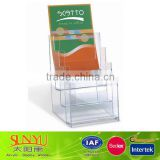 Arcylic display in Office supplies/4 layers acrylic brochure box