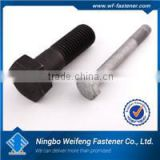 High strength good price zhejiang fastener manufacturers hex/flange bolts and nuts with zinc plated made in China