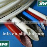 PE Cable accessories/insulation tube/ heat shrink tube/Yellow-green heat shrinkable sleeves