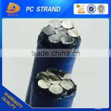 SWRH77B/82B Unbonded PE Coated PC Steel Strand