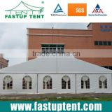 Doom roof frame party tent with PVC waterproof fabric for wedding outdoor event 300 people
