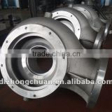 Pump case casting with machining