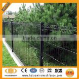 2014 standard & colorful pvc coated wire mesh fence