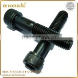 good quality manufacturer carbon steel DIN912 grade 4.8/8.8/10.9 zinc/black/plain socket cap bolt