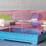 Factory Wholesale Large Iron Hamster Cage With Plastic Accessories
