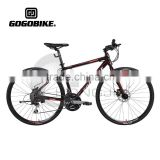 Hongjin Aluminum Alloy Frame Road Bicycles with Big Wheels