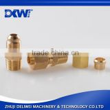 Environmental protection brass JIC hydraulic fittings pipe