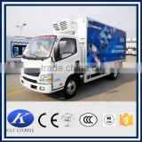 fruits and vegetables transport refrigerated truck