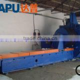 Wedged wire wrapped screen pipe welding machine