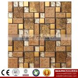 IMARK Electroplated Color Glass Mix Ceramic Mosaic Tiles (IXGC8-072) for back splash mosaic wall art