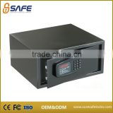 Safety mini fireproof steel hotel room safe box with heavy weight