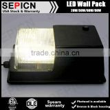 ETL listed outdoor led wall pack 28w US standard wall lighting fixture