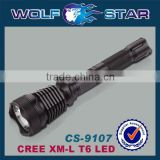 rechargeable police flashlight with CREE T6 LED
