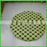 Green Pink Polka Dot Bouffant Shower Caps For Women Long Hair Shampoo Hat on Bathroom Accessories