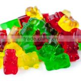 New product Wholesale FDA food grade non stick 50 cavities silicone chocolate bear candy molds