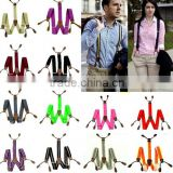 2015 China Mens Womens Clip-on Suspenders Elastic Y-Shape Adjustable Braces Wholesale Factory
