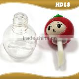 China supplier custom cosmetic packaging mini empty cute lip gloss container