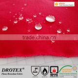 Drotex 280gsm CVC flame retardant anti-static acid resistant sateen fabric for FR work wear