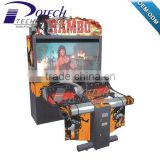 coin operated arcade machine Rambo shooting simulator game machine for sale