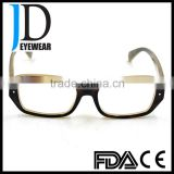 2016 hot selling shenzhen factory buffalo horn glasses frame