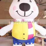 New lovely inflatable polar bear costume/inflatable costume/mascot costume