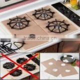 PTFE coated NON-STICK Stovetop Protectors gas oven liner gas burner range protectors oven liner