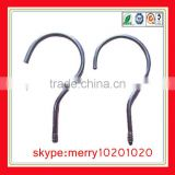 custom nickel/chrome/zinc coating metal hooks metal hook plastic cloth hanger hanger hook screw