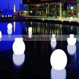 LED RGB colourful balls with lighting for swimming pool/plastic Material waterproof balls