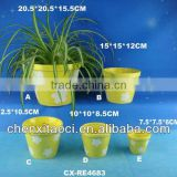 Porcelain Planters branded,Porcelain pots and planters customized,Porcelain plant pot promotion