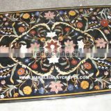 Marble Inlay Dining Table Top, Marble Table Top