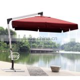 3*3m patio sun umbrella strong arm luxury garden sun parasol outdoor shading furniture