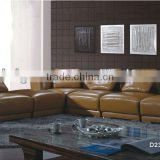 Bisini Luxury Modern Style Hotel Leather Corner Sofa (BG90455)