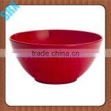 Customized Eco-friendly Feature and SGS certification round soup plastic melamine flower bowl