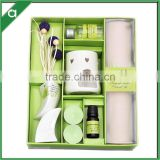 Ceramic oil burner fragrance oil diffuser gift set, scented drawer liner set