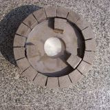 Satellite positioning wheel for stone slab surface calibration -diamond satellite abrasive for slab calibration