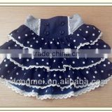 summer new korean skirts lovely mini girls polka dotted skirts, beautiful girls short skirts in stock width wholesale price