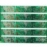 16 Multilayer Metal Hole PCB Board With 8mil Min Line Width In Green Soldermask