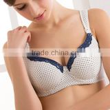 Ecoach Wholesale OEM Women Cotton Spandex Maternity Nursing Hands Free Breastfeeding Bra for Fat Woman