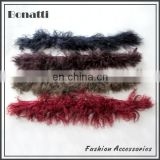 Fashion design Mongolian fur collar