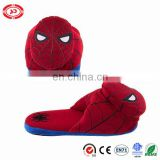 Spider Red Man Plush Stuffed Soft Cartoon Indoor Slippers