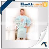 Dust protection disposable nonwoven useful preventing CPE gowns used in hospitals for medical and surgical use
