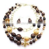 multi layer latest design bead necklace